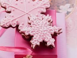 snowflake cookies pink snowflake cookies recipe eat smarter usa