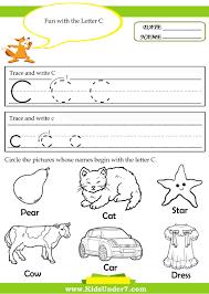 Abc Practice Worksheets For Kindergarten Letter C Worksheets For Preschool Google Search Letter Sound