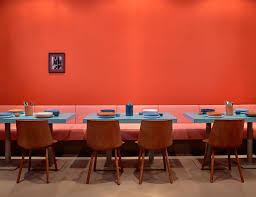 Pretty Orange Louis Pretty Deli In Berlin Yellowtrace Banquettes Interiors
