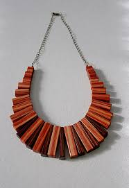wooden necklaces deco wood necklace 6 steps with pictures