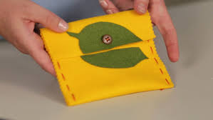 video quick stitch purse project perfect for kids martha stewart