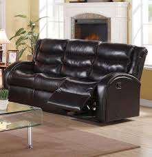 Acme Furniture Acme Furniture Noah Reclining Sofa With Rounded Track Arms And