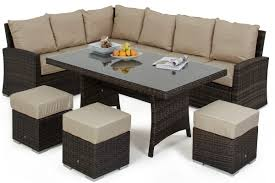 captivating kingston corner sofa dining set for modern home