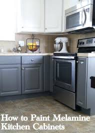 painting pressboard kitchen cabinets painting particle board kitchen cabinets how to paint melamine
