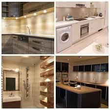 home depot kitchen cabinet lighting eshine 3000k led cabinet puck lights with wave