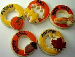 153 best fall images on fall cookies cookie ideas and
