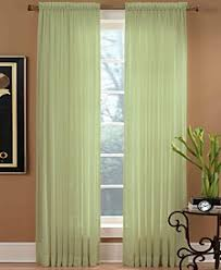 Hunter Green Kitchen Curtains by 63 Inches And Under Curtains And Window Treatments Macy U0027s