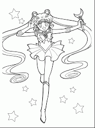 impressive anime sailor moon coloring pages sailor moon