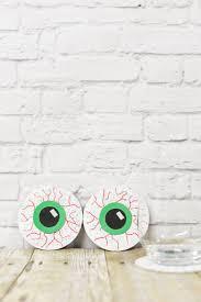 creepy eyeball coasters hey let u0027s make stuff