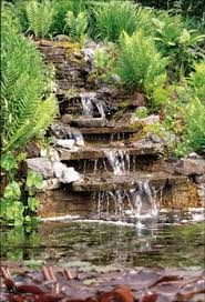 how to build a waterfall in your garden building an ornamental