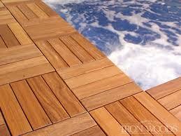 iron woods deck tiles