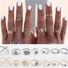 ring set wavy baby ring set bohowild boutique