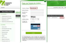 pago de impuesto vehicular en linea dgii habilita certificaciones en línea de recibos de pago y