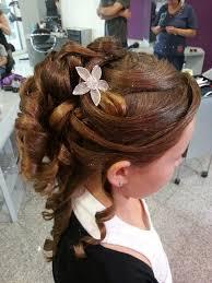 coiffure mariage enfant chignon enfant