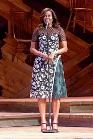 michelle obama just wore the designer we u0027ve been dying to see her in