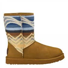 womens ugg pendleton boots ugg s pendleton boots chestnut 1011215 che