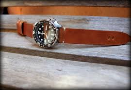 bracelet cuir montre images Hunter canotage jpg