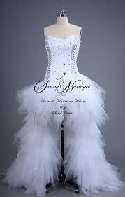 robe mari e courte devant longue derriere robe de mariée sur mesure courte et longue mariage