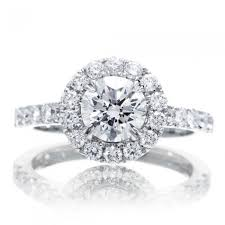 engagement ring with halo solitaire halo engagement ring pavé setting