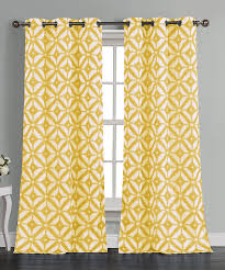 Yellow Grommet Curtain Panels by Duck River Textile Buttercup Mckay Grommet Curtain Panel Set Of