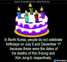 mind blowing facts in korea do not celebrate