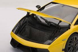 yellow lamborghini gallardo autoart 1 18 scale lamborghini gallardo lp570 4 superleggera