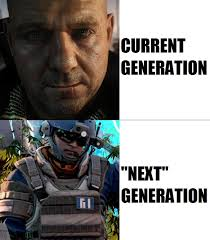 Next Gen Dev Meme - killzone shadow fall killzowned crysis 3 pc to bits system wars