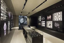 renovation for small jewellery shop pictures with black color