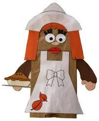 bag pilgrim puppet