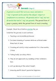 grade 3 grammar topic 42 gerunds worksheets lets share knowledge