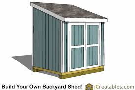 Free Saltbox Wood Shed Plans by Lean To Shed Plans Easy To Build Diy Shed Designs