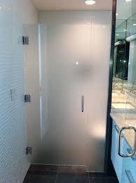 Satin Glass Shower Door by Bathroom Modern Bathroom Design With Starphire Glass Shower Door