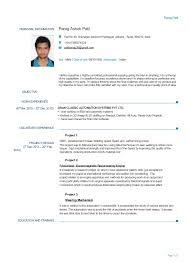 mechanical engineering resume experienced mechanical engineer resume