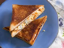 Buffalo Chicken Buffalo Chicken Grilled Cheese Sandwich Recipe Serious Eats