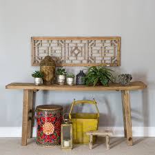 Rustic Table Ls Console Table Rustic Reclaimed Wood Rectangular Console Table