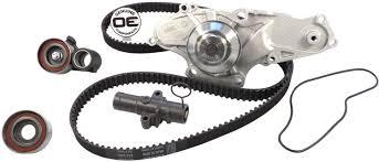 2006 honda pilot timing belt replacement amazon com acdelco tckwp329 professional timing belt and water