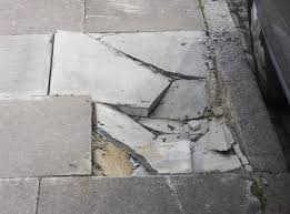 How To Fix Cracks In Concrete Patio Settling Sinking Outdoor Concrete Repair In Ashland Houghton