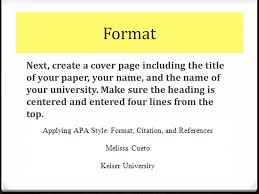 10 how to do an apa title page bibliography formatapa format