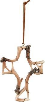 antler cross ornament legendary whitetails