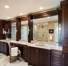 furniture magnificent mirror vanity design ideas of large brown