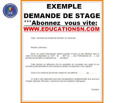 Lettre De Motivation Stage Journalisme 28 Images Lettre Senegal Education
