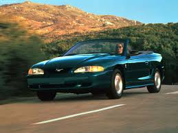 first mustang ever made ford mustang convertible 1995 pictures information u0026 specs