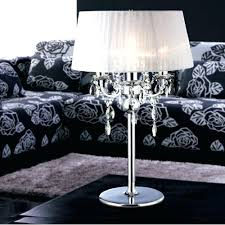 lamp shades for buffet lamps table modern crystal contemporary