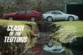 porsche 944 road test audi quattro vs porsche 944 turbo 5 april 1986 throwback