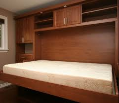 Wall Mounted Folding Bed Bedroom Dashing Modern Wood Wall Covering Classy Modern Hidden