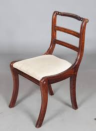 Regency Dining Chairs Mahogany Set Of 8 Regency Style Dining Chairs