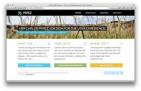 ux ui web design front end development on behance