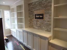 Living Room Shelving Units by Furniture White Varnished New Built In Wall Units With Open Racks