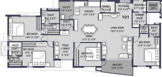 4bhk house 4000 sq ft 4 bhk floor plan image ravani developers dream house