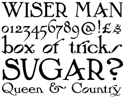 arts and crafts ornaments font type co uk